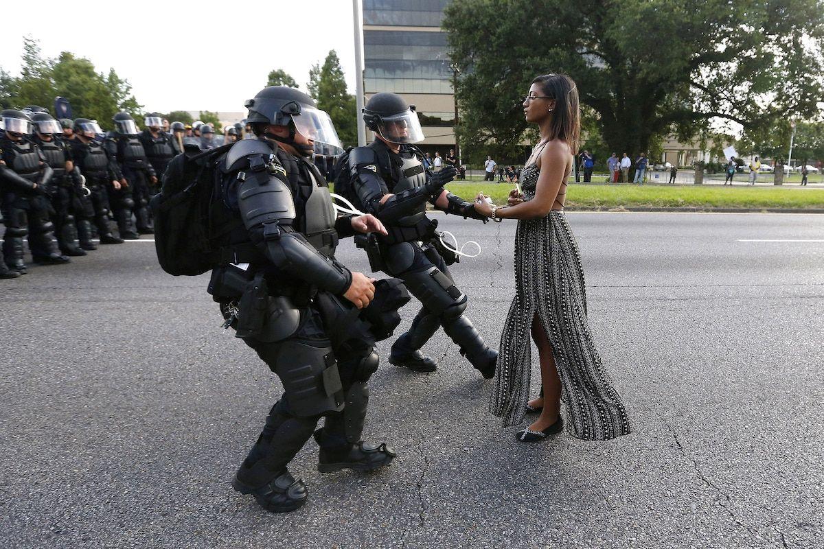 L'arresto di Ieshia Evans